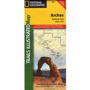 Arches National Park Trail Map