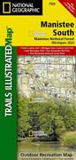 Manistee National Forest South Trail Map