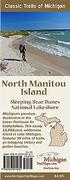North Manitou Island Sleeping Bear Dunes National Lakeshore Map Guide
