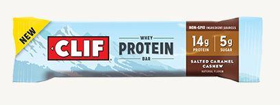 Clif Whey Protein Bar - Salted Carmel Cashew