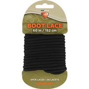 Waxed Boot Laces - Black 60