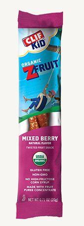 Clif Z- Fruit Mixed Berry