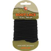 Waxed Boot Laces - Black 72