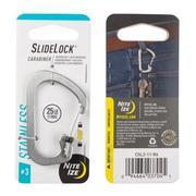 Slidelock Carabiner #3 - Stainless Steel