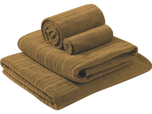Luxe Beach Towel - Bronze