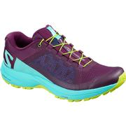 Women's XA Elevate - Dark Purple/Blue Curacao/Acid Lime