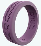 Women's Lilac Laurel Q2X Silicone Ring