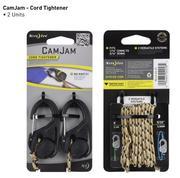 CamJam 2pk Cord Tightener w/ 8' Rope