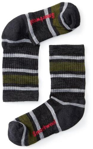 Kids ' Striped Hike Light Crew Socks