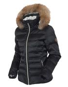 Women's Fiona Waterproof Quilted Stretch Jacket with Removable Fur Ruff