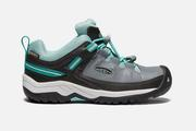 Youth Targhee Low Waterproof - Steel Grey/Wasabi