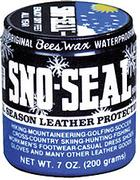 Sno Seal All Season Beeswax Waterproofing Leather Protection-7oz Jar