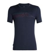 Tech Lite Short Sleeve Crewe Cadence Pulse