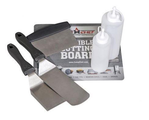 6- Piece Professional Griddle Tool Set