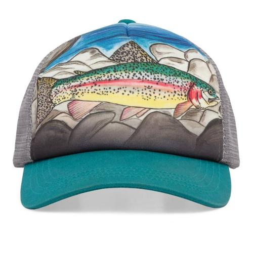 Kids ' Rainbow Trout Trucker