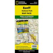 Banff National Park Map Pack Bundle Trail Maps