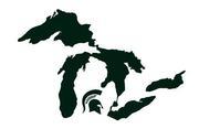 NCAA Michigan State University Helmet Sticker