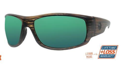 Torrent Cedar/Green Mirror Sunglasses