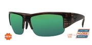 Titan Cedar/Green Mirror Sunglasses