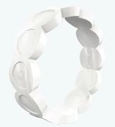 Women's Pearl Scallop Silicone Ring