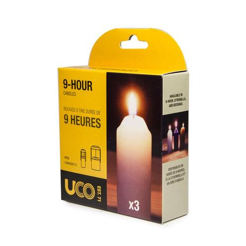 Uco Candles - 3 Pk