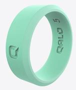 Women's Modern Aqua Foxfire Silicone Ring