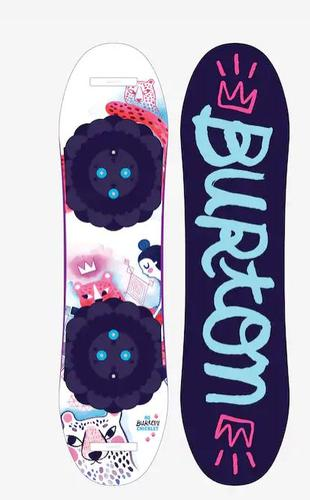 Girls ' Chicklet Flat Top Snowboard (20/21)