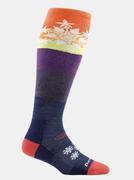 Snowflake Over-The-Calf Cushion Sock