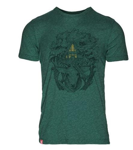 Stag House 50/50 T- Shirt