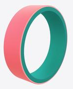 Women's Switch Emerald and Coral Silicone Ring