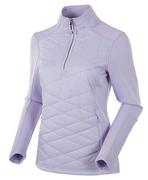 Women's Daisey Hybrid Thermal Stretch Half-zip Pullover