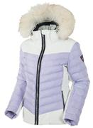 Women's Layla Waterproof Quilted Stretch Jacket With Removable Fur Ruff