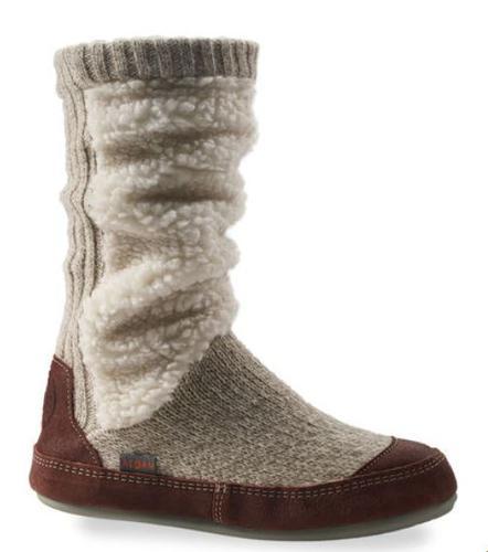 Women's Slouch Boot Slipper Socks