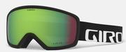 Ringo Goggle - Black Wordmark / Vivid Emerald (19/20)