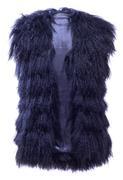 Women's Sloan Mongolian Lamb Vest