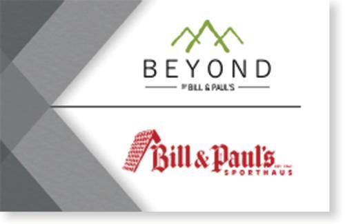 Bill & Paul's $250 Gift Card