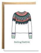 Feeling Festive Card