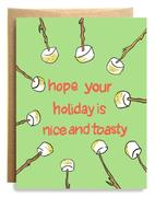 Nice and Toasty Holiday Card