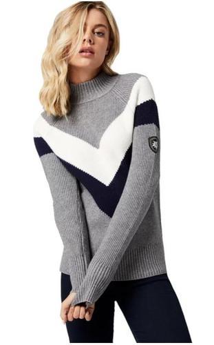 Women's Slalom Mock T Sweater