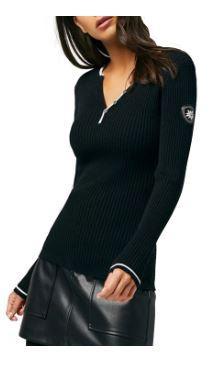 Women's Caitlin Henley Sweater