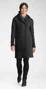 Women's Boiled Wool Trench