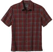 Men's Mojave Dobby Plaid SS