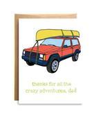 Crazy Adventure Card