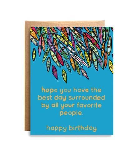 Floatilla Birthday Card