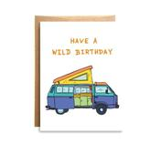 Wild Bday Card