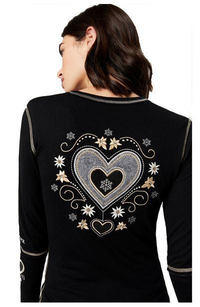 Women's Alpine Heart Crew Shirt